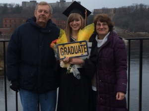 December 20th, 2014. With my biggest support system of ma and pa by my side.